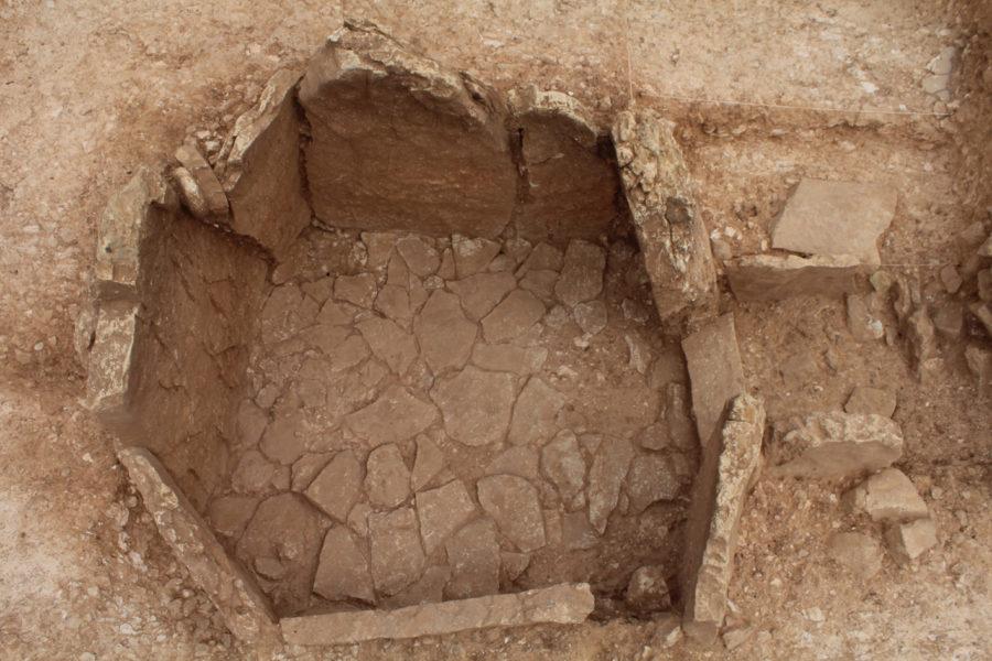 Sepultura 3 una vez completado el proceso de excavación (foto: Gonzalo Aranda Jiménez).